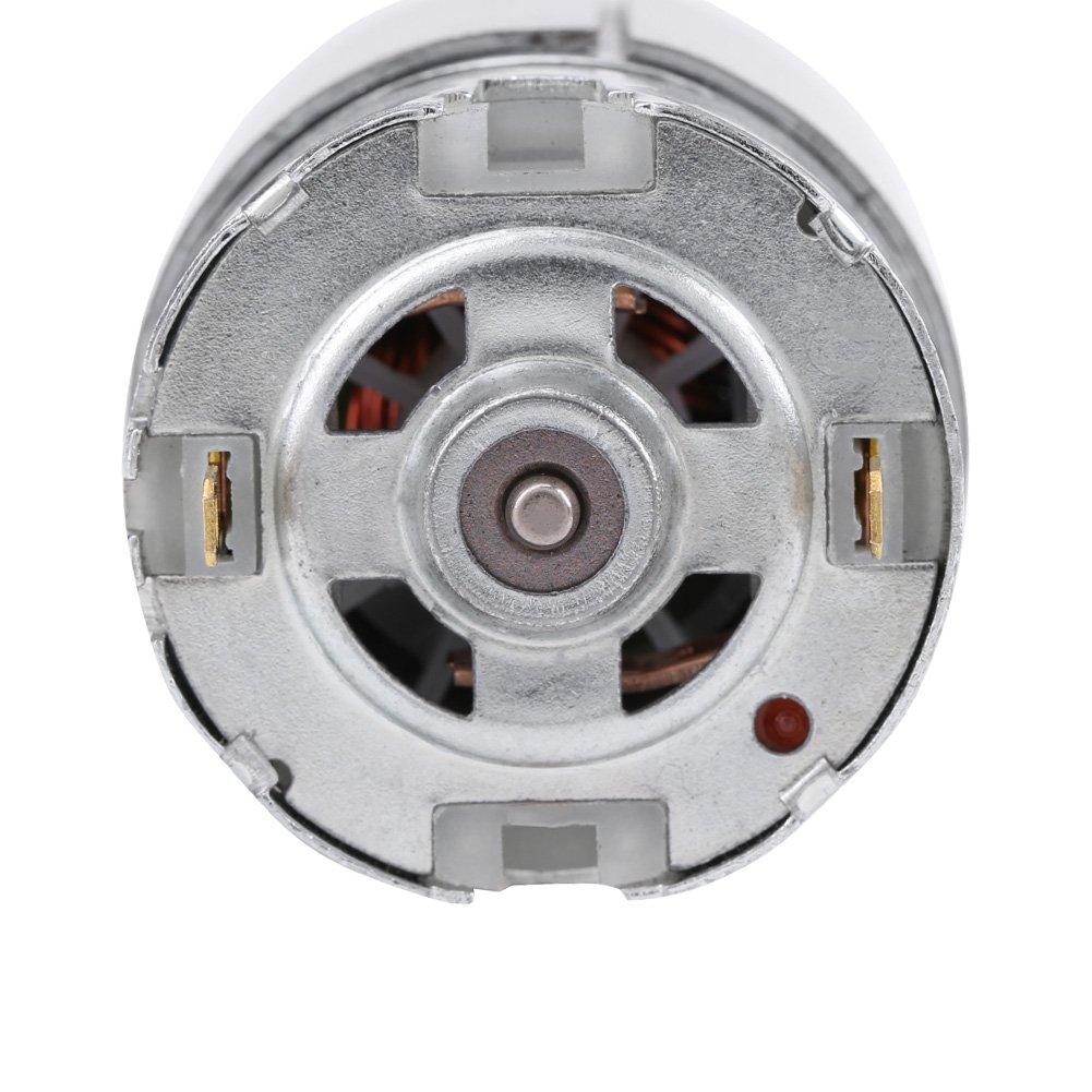 DC 12-24V 22000 rpm Micro motor RS-550 para varios taladros manuales inal/ámbricos
