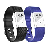 Fitbit Charge 2 Band, BeneStellar Classic Bracelet Strap Replacement Band for Fitbit Charge 2