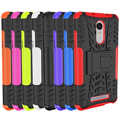 Para Xiaomi Redmi Note 3 / Note 3 Pro (5,5 pulgadas) (No para Note 3 edición internacional) Cáscara Armadura Combo ZeWoo® Carcasa y Funda de Silicona - HH004 / Rodadura antideslizante (púrpura)