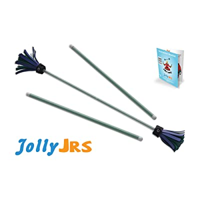 Green Jolly JRS Beginner Juggling Sticks: Toys & Games