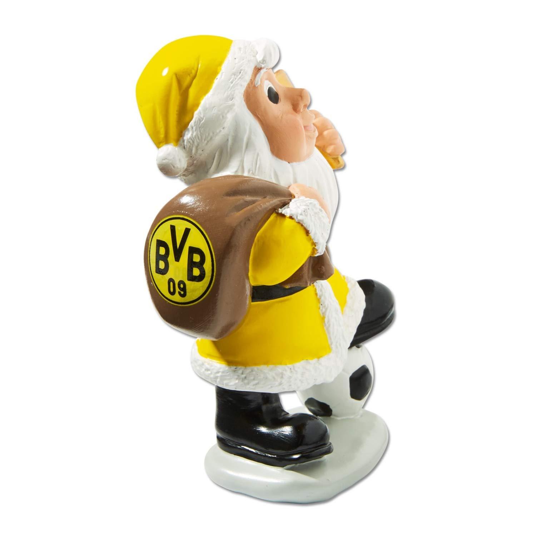 Nikolaus BVB 09 Plus Lesezeichen I Love Dortmund Borussia Dortmund Weihnachtsfigur 2er-Set Weihnachtsmann