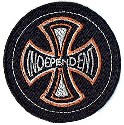 INDEPENDENT Cross Motorcycles Biker Shirt T-ShirtJacket Patch Sew Iron on Logo Embroidered Badge Sign Emblem - Number Tracking Usd