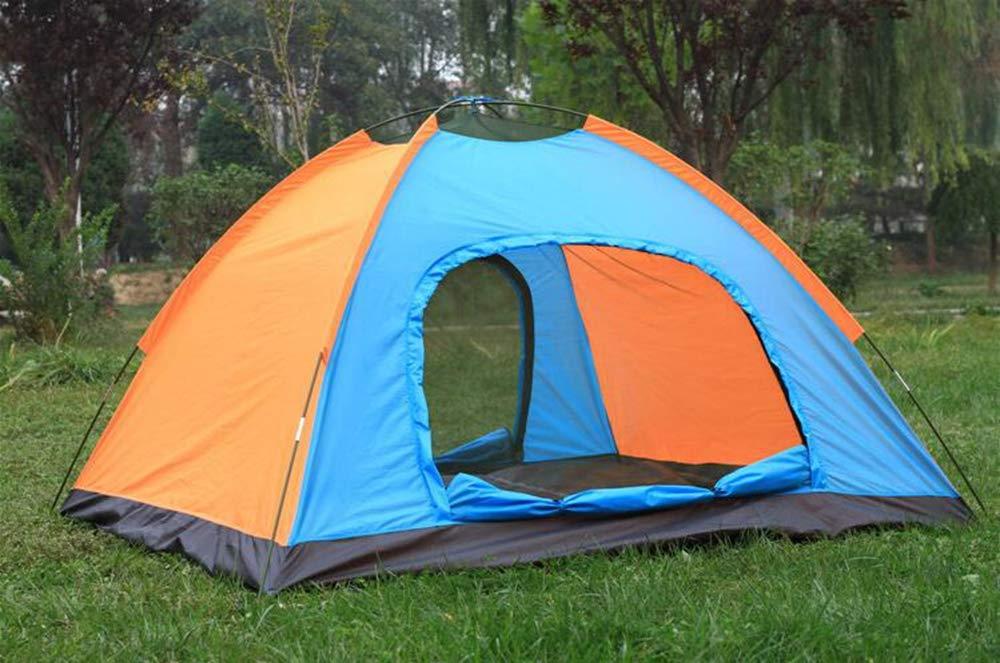 BBX Gruppo Famiglia Instant Portable Tenda 5000 mm Acqua Colonna Festival Campeggio Backpacking Trekking Impermeabile Cupola Esterna Tenda 3-4 Persone
