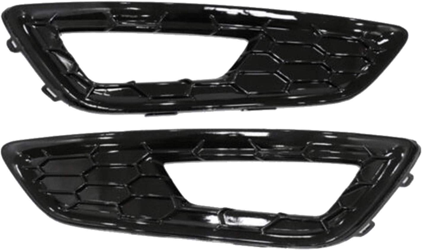 XIAOFANG Frontsto/ßstange Nebelscheinwerfer Abdeckung Grille fit for Ford Focus Sport S SE 2015-2018