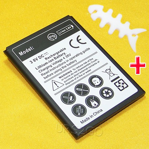 High Capacity 3000mAh Extended Slim Rechargeable A+ Battery for Straight Talk/TracFone/Net10 ZTE ZFive 2 LTE Z837VL Smartphone with special accessory (see picture) -  Sharpcost