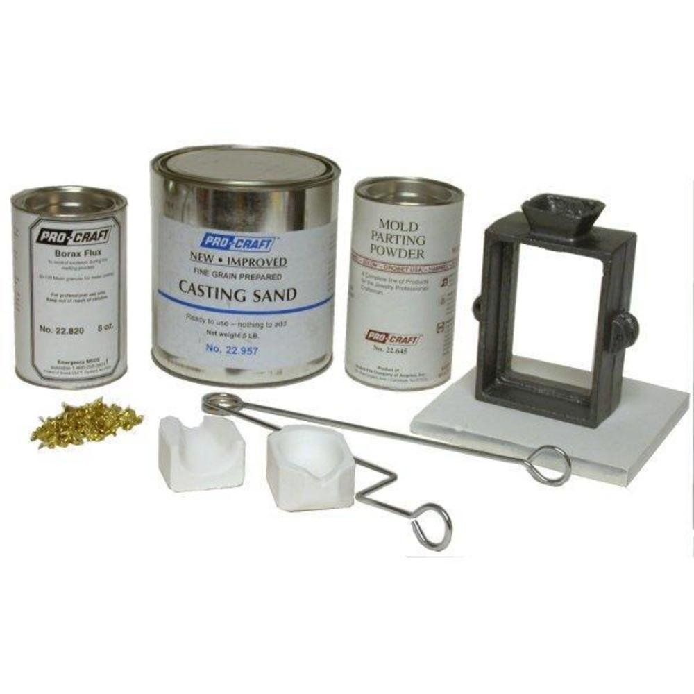 Jewelers Sand Casting Tool Kit Complete by Grobet (Image #1)