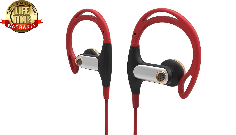 Ranbhi BT09 Wireless Bluetooth Headphones Sports Earbuds Waterproof  Headphones Sweatproof Running Gym Stereo Headset Built-in Super HD  Mic/APT-X 7-9
