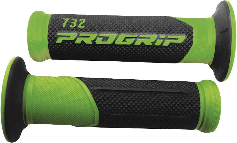 Progrip 724BlackYellow 724 Series Superbike Grips,Black//Yellow