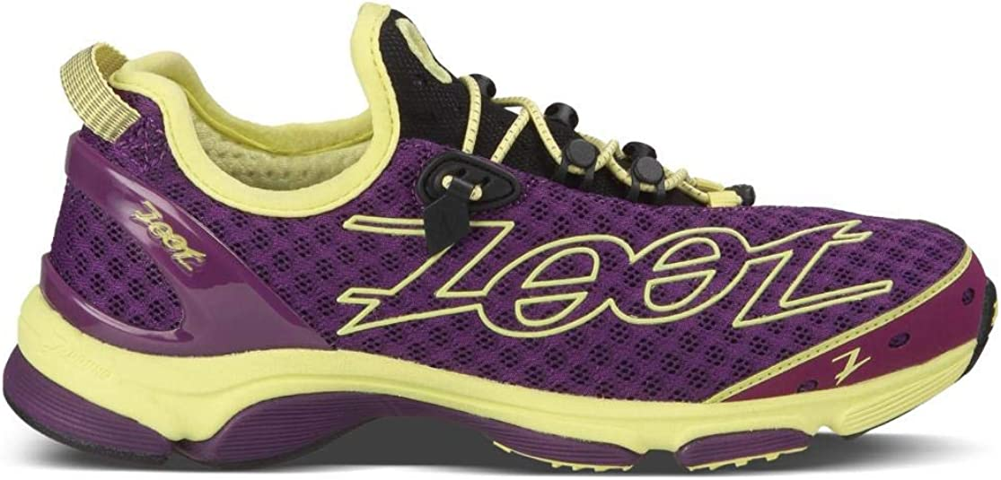 Zoot Zoot Women Triathlon Running Shoe TT 7.0 Color Deep Purple/Honey Dew W TT 7.0 - Deep Purple/Honey Dew 37: Amazon.es: Zapatos y complementos