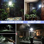 Motion Sensor LED Outdoor Security Flood Light,50W Daylight White IP65 Waterproof Lights,4500 Lumen,250W Hps Bulb Equivalent,for Parking Lots,Gardens,Warehouses