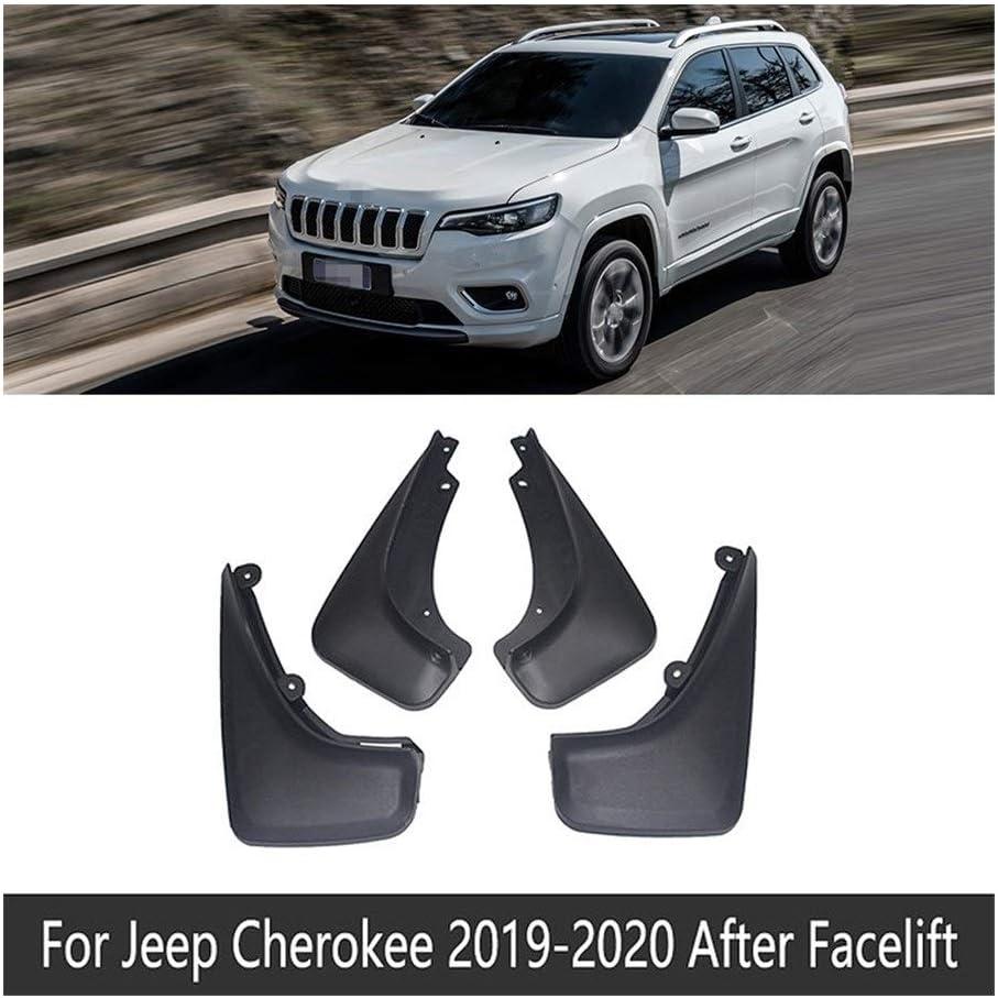 Colore : Fit After Facelift Auto Mudflap Per Jeep Cherokee KL 2014~2020 Fender Fango Guardia Flap Flap Splash Parafanghi Accessori 2015 2016 2017 2018 2019 5 /°
