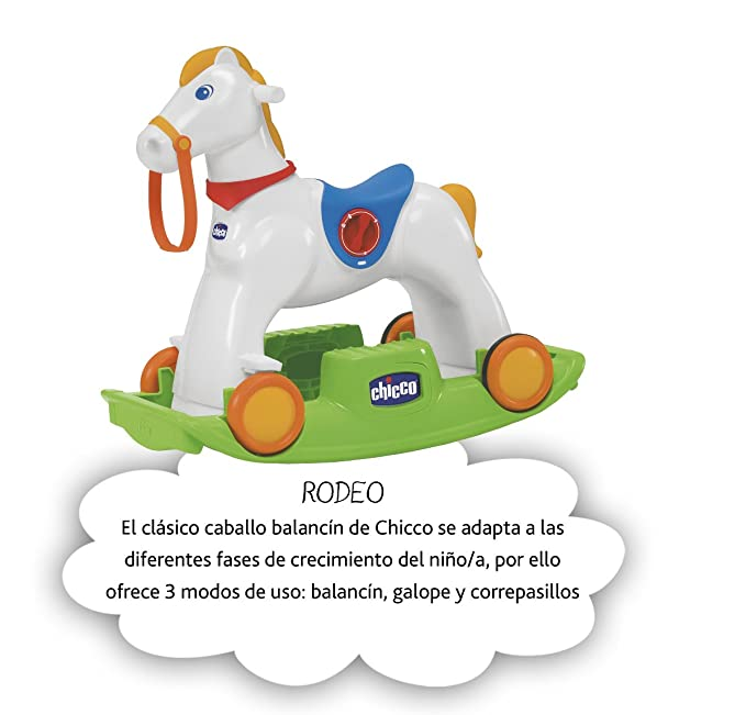 Amazon.com: ARTSANA Chicco EE. UU./EE. UU. Rodeo: Toys & Games