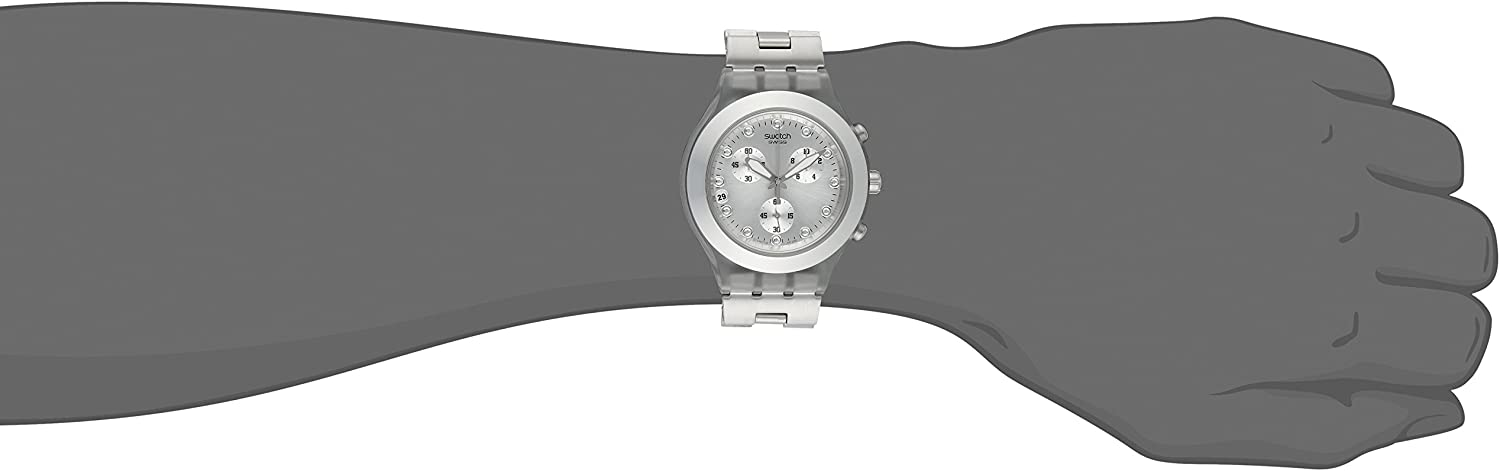 Swatch Men s SVCK4038G Full Blooded Silver Watch