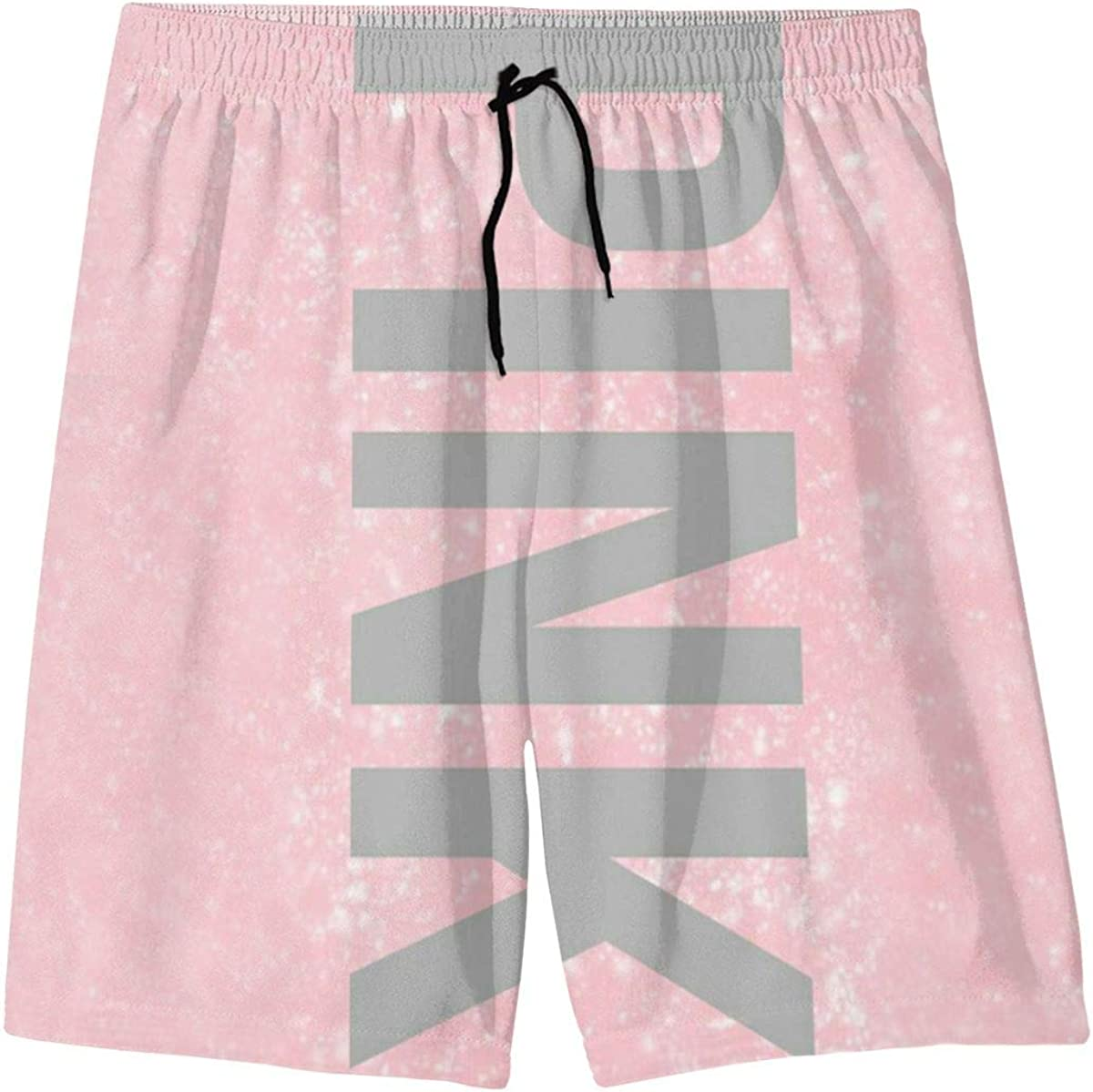 YOIGNG 2018 Nigerian Flag and Map Teens Swim Trunks Beach Shorts Surfing Board Quick Dry Bathing Suit