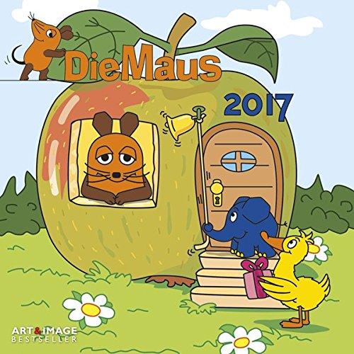 Der Kalender mit der Maus 2017 - Kinderkalender, Kalender für Kinder, Die Sendung mit der Maus  -  30 x 30 cm