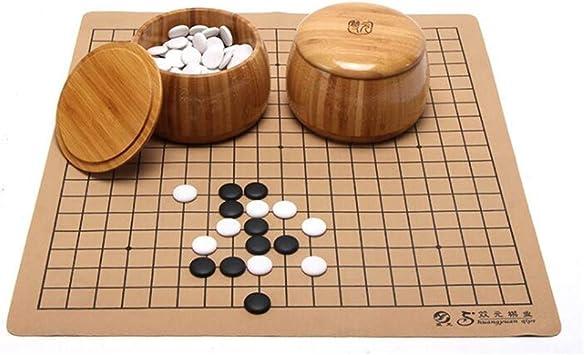 Gobus Juegos de ajedrez Go Juegos de ajedrez de cerámica Juego de ...