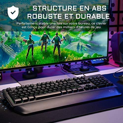 THE G-LAB Keyz Palladium Clavier Gamer AZERTY - Actualités des Jeux Videos