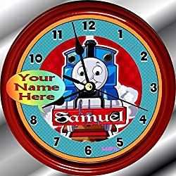 Personalized Thomas The Train Wall Clock (8.75 Dia)