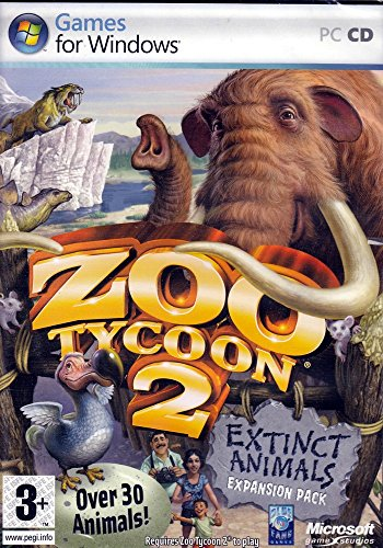 Zoo Tycoon 2 Extinct Animals Expansion Pack - - Pc Zoo Tycoon Game