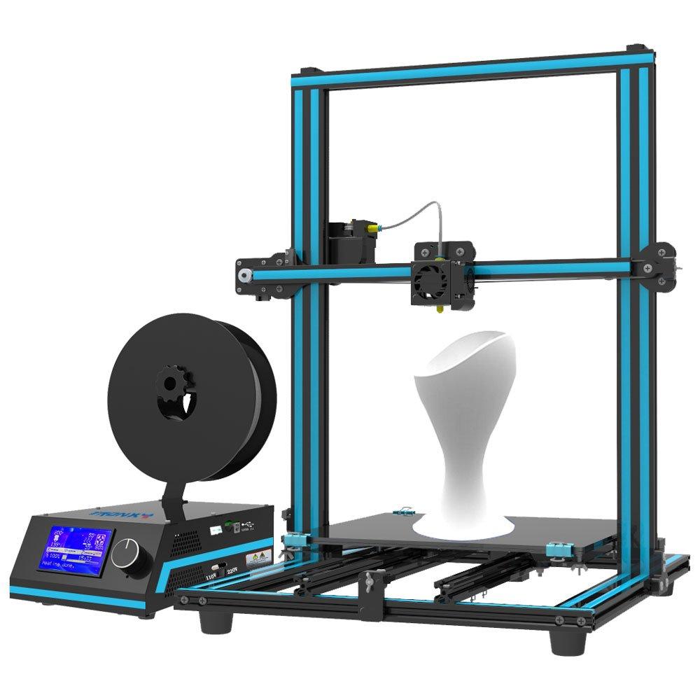 Tronxy X3S Prusa i3 Imprimantes 3D Ultra Quiet Desktop Machine d'impression Carré Profilé en Aluminium Complet, Taille Maximale d'impression 330*330*420mm Taille Maximale d'impression 330*330*420mm
