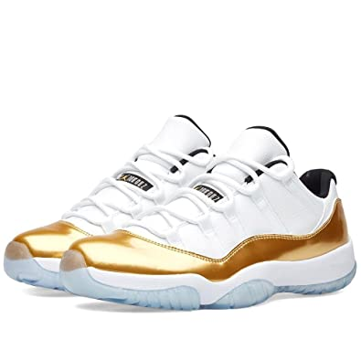AIR JORDAN 11 RETRO LOW 'WHITE/METALLIC GOLD' CLOSING CEREMONY MEN'S SHOE  SIZE