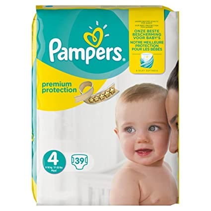 Pampers New Baby Premium Protection 4 39pieza(s) - Pañal (Universal, Pañal