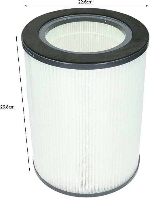 Spares2go HEPA - Filtro para purificador de aire VAX (tipo 141 ...