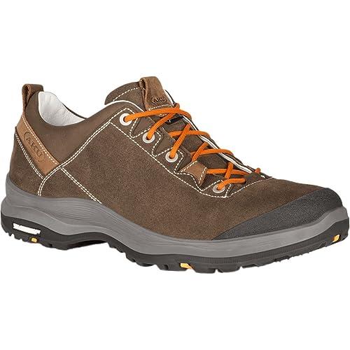 AKU Trekking Shoes Trekking 412-050 LA VAL LOW GTX Brown Brown ... 49af0d0c7ec
