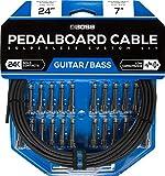 BOSS Solderless Pedalboard Cable Kit, 24 feet (BCK-24)
