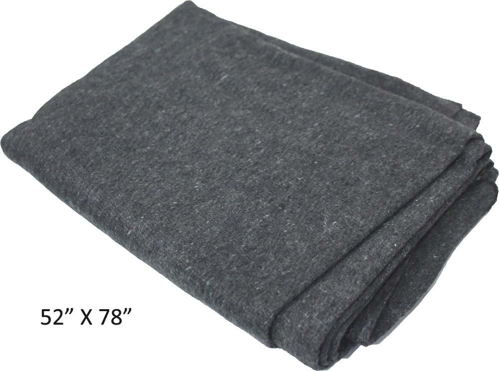 (130cm x 200cm) - ToolUSA Adroit 130cm X 200cm Emergency Blanket With 50 Percent Wool & Synthetic Fabrics: TC-43809 B00V9K406A  52-x-78inch