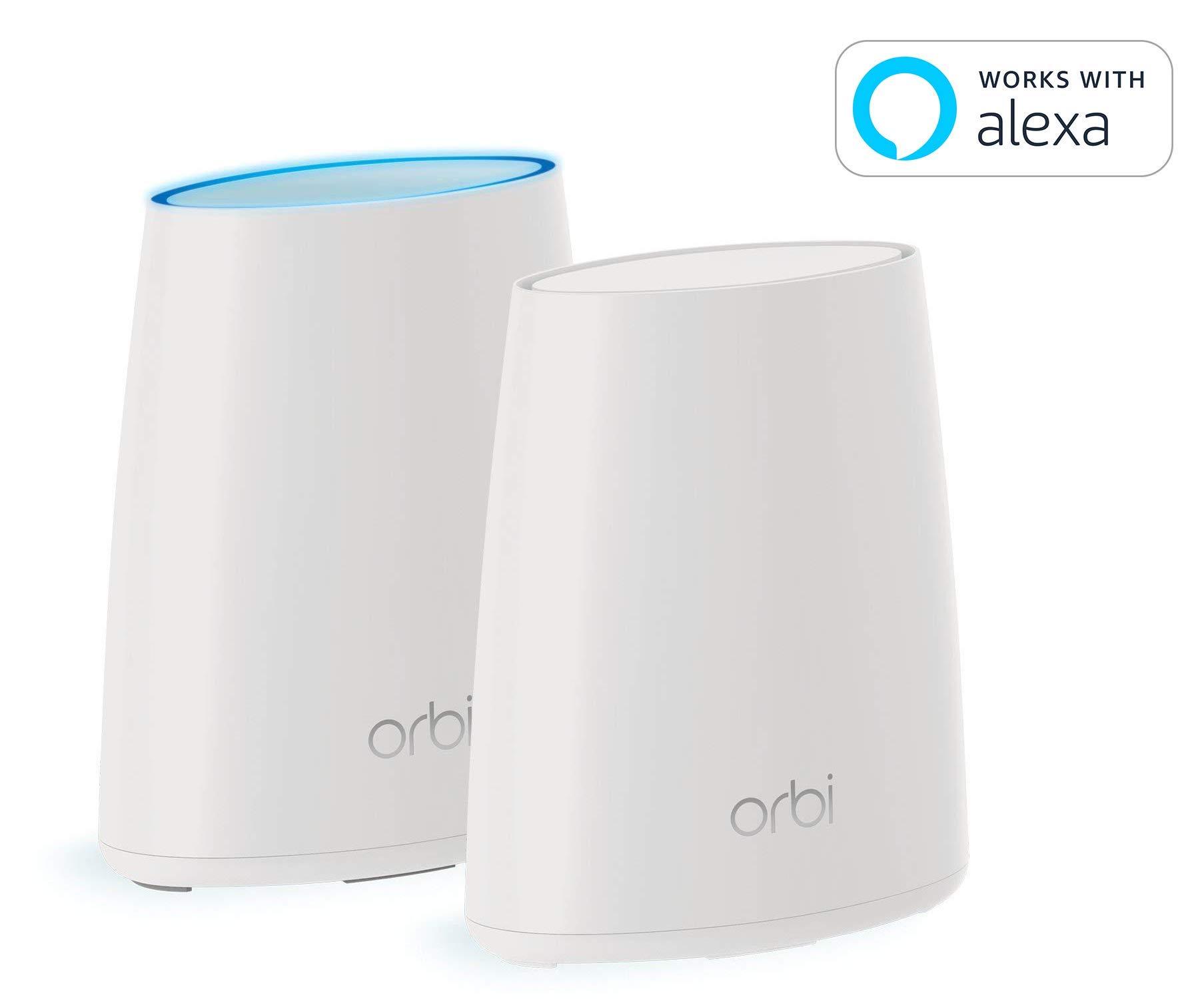 Netgear Orbi RBK40 IEEE 802 11ac Ethernet Wireless Router