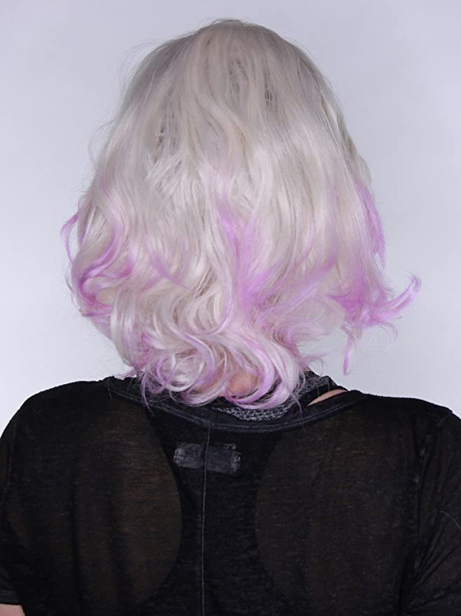 Prettyland C021 - ondulado rizado corto peluca tinte de ...