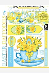 Easter Daffodils Cut-n-Make Book: Easter Egg and Daffodil Clip Art for Handmade Cards, Wraps and Decorations (Volume 4)