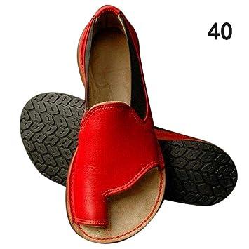 Wapern Bunion Splints, Damen Big Toe Hallux Valgus Unterstützung Plattform Sandale Schuhe für die Behandlung