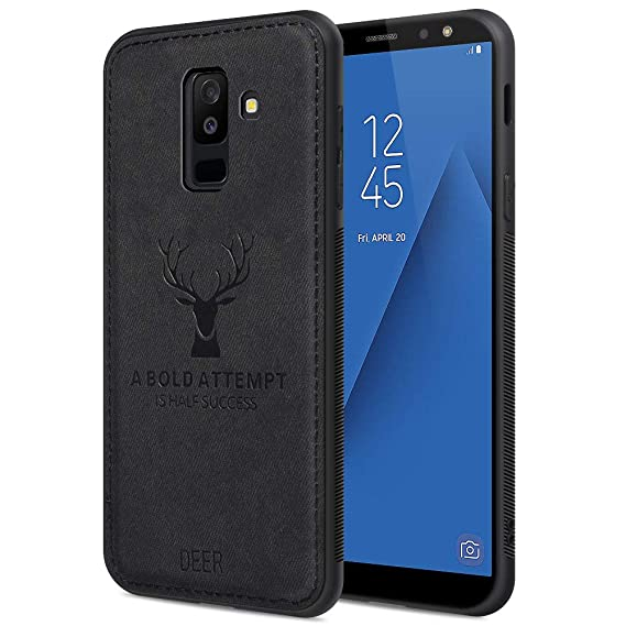 buy online aed92 fae25 Samsung A6 Plus Case Samsung A6 Plus Phone Cover Shockproof Snow-Proof  Dirt-Proof Full Body Phone Protector Cover for Samsung A6 Plus with 3D ...