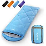 PARKOL Sleeping Bag for Adults & Kids - 3 Seasons Warm & Cold Weather - Summer, Spring, Fall, Waterproof, Lightweight…