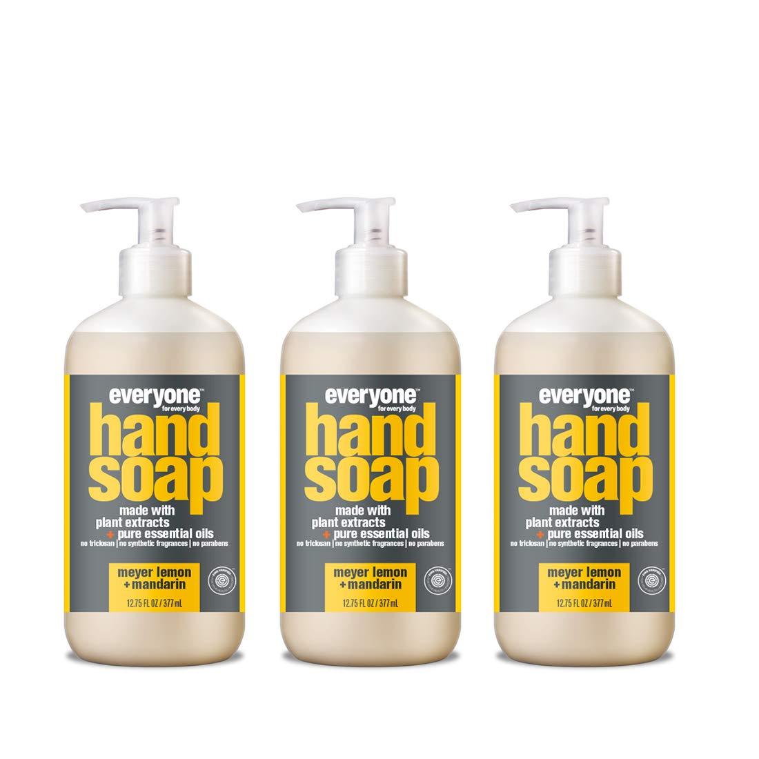 Everyone Hand Soap, Meyer Lemon and Mandarin, 12.75 Fl Oz (Pack of 3)