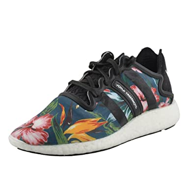 03f1ecd93 Yohji Yamamoto Y-3 Adidas Y3 Men s Boost Floral Print Running Sneakers  Shoes US 10.5