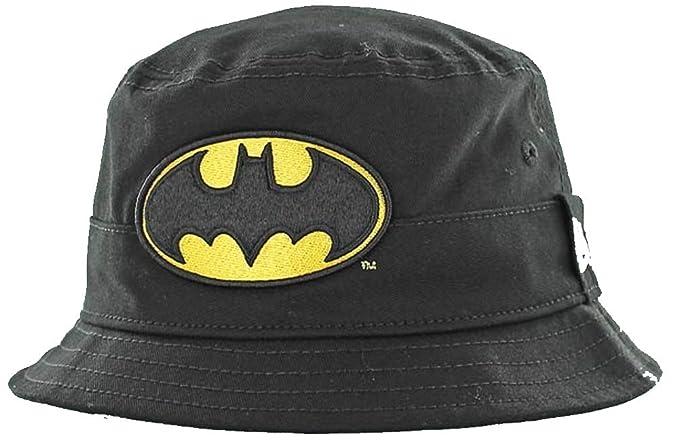f07de93366d Image Unavailable. Image not available for. Color  New Era Batman Character  Bucket Hat Child Black Sonnenhut Kids DC Comics