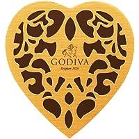 GODIVA歌帝梵金装精选巧克力心形礼盒(12颗装)151g(比利时进口)