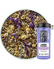 Tiesta Tea, Lavender Chamomile, Soft Chamomile Herbal Tea, 50 Servings, 2 Ounce Tin, Non-Caffeinated, Loose Leaf Herbal Tea Relaxer Blend