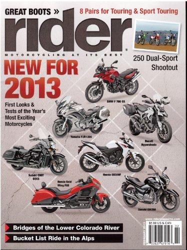 Rider Magazine February 2013