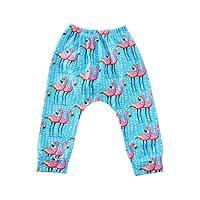 Loveble Kids Cartoon Animal Printed Trousers Girls Boys Harem Pants