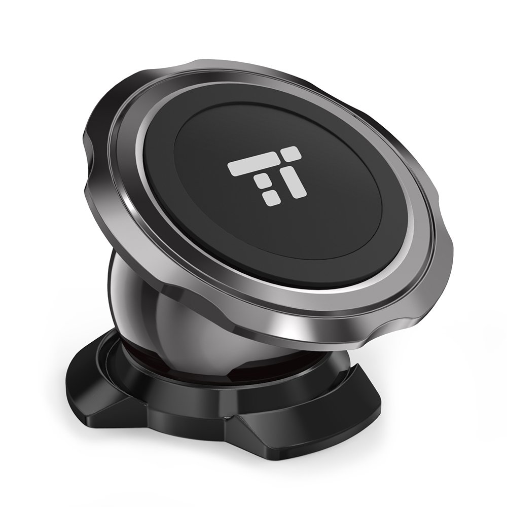 TaoTronics Magnetic Phone Holder for Car Dashboard, Car Phone Mount with a Super Strong Magnet Compatible with iPhone XR XS Max X 8 7 6 Plus, Galaxy S9 S8 S7 S6 and All Smartphones TT-SH011