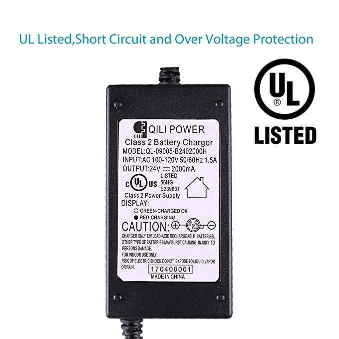 qili power wiring diagram wiring diagram Power Inverter Diagram amazon com lotfancy 24v 2a battery charger for electric scooteramazon com lotfancy 24v 2a battery charger