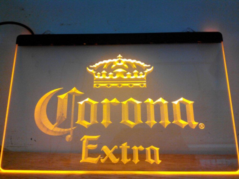 Corona Extra LED Caracteres Publicidad Neon Cartel Gleb ...