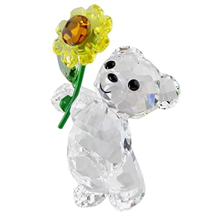 ff99a1c5a9 Image Unavailable. Image not available for. Color: Swarovski SW5268764 Kris  Bear - A Sunflower for You