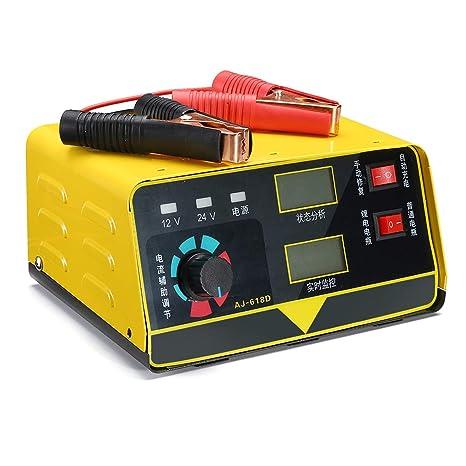 AJ-618D - Cargador de batería para coche o motocicleta (12 V ...