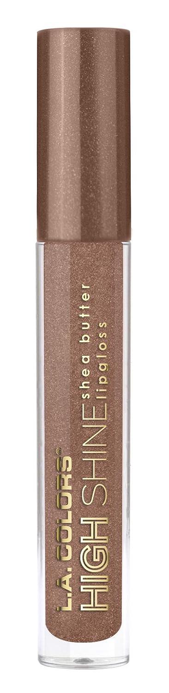 L.A. Colors High Shine Shea Butter Lip Gloss, Fresh, 0.14 Oz L.A. Colors Cosmetics CLG949