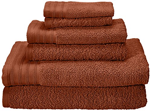 Kaufman - Zero Twist Jacquard Bath Towel Set. 2 Bath, 2 Hand